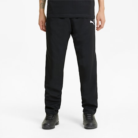 Active Woven Herren Sweatpants, Puma Black, small
