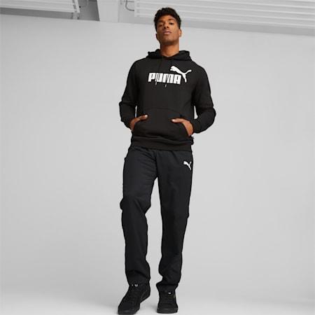 Męskie spodnie dresowe z tkaniny Active, Puma Black, small