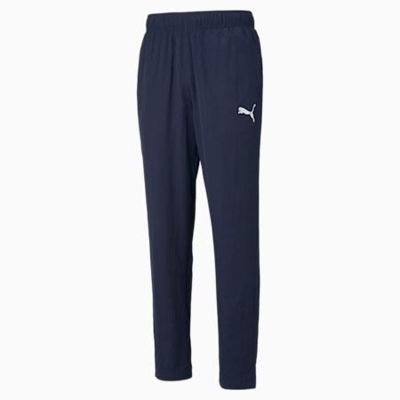 Pantaloni in tessuto Active uomo, Peacoat, small