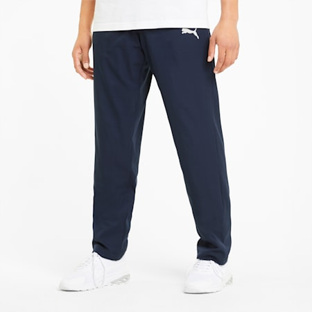Active Woven Men's Sweatpants, Peacoat, small-GBR
