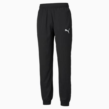 Active Woven Men's Pants, Puma Black, small