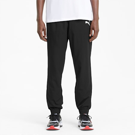 Active Woven Men's Pants, Puma Black, small