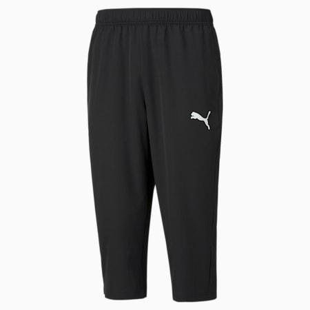 Active Woven 3/4 Regular Fit Men's Sweat Pants, Puma Black, small-IND
