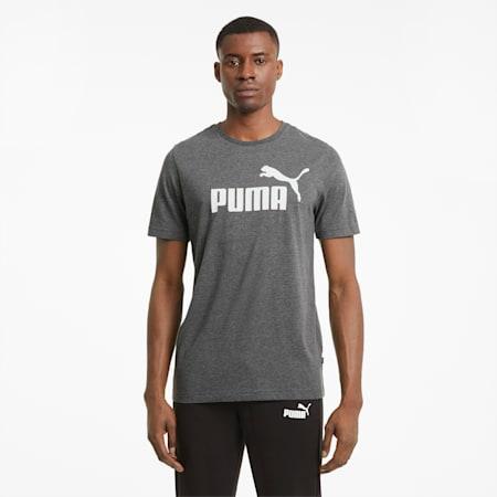 T-shirt Essentials Heather homme, Puma Black, small