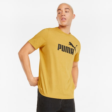 T-shirt Essentials Heather homme, Mineral Yellow, small