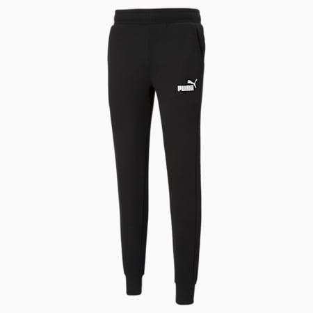 Essentials Slim Men's Pants, Puma Black, small-GBR