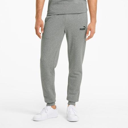 Męskie dopasowane spodnie Essentials, Medium Gray Heather, small