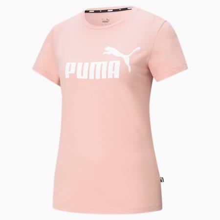 T-shirt con logo Essentials donna, Bridal Rose, small