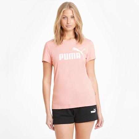 Essentials Logo Women's Tee, Bridal Rose, small