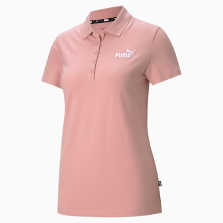 Essentials Women's Polo Shirt, Bridal Rose, small-IND