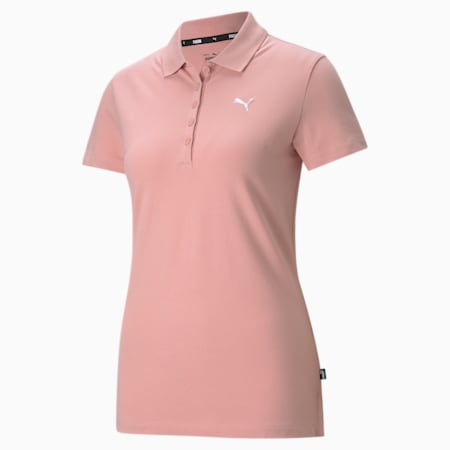 Essentials Women's Polo Shirt, Bridal Rose-CAT, small-GBR