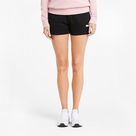 에센셜 4인치 스웨트 쇼츠 반바지 TR/ESS Sweat Shorts, Puma Black, small-KOR