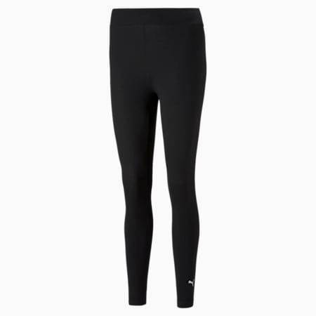 Essentials Logo Women's Leggings, Puma Black, small-SEA