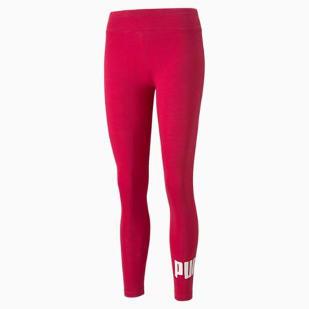 Essentials Logo Women's Leggings, Persian Red, small