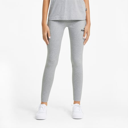 Leggings Essentials donna, Light Gray Heather, small