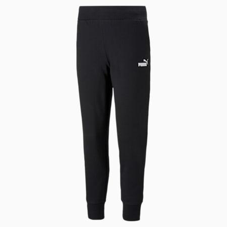 Essentials Women's Sweatpants, Puma Black, small-GBR