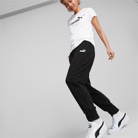 Essentials joggingbroek dames, Puma Black, small