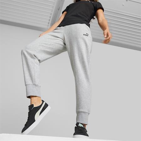 Damskie spodnie dresowe Essentials, Light Gray Heather, small