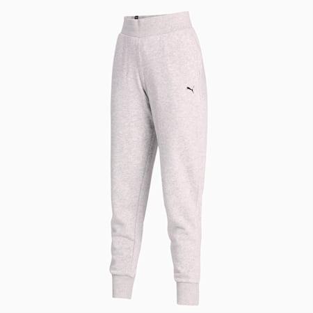 Essentials Women's Sweat Pants, Light Gray Heather-CAT, small-IND