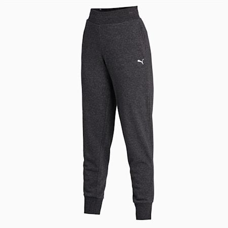 Essentials Regular Fit Women's Sweat Pants, Dark Gray Heather-CAT, small-IND