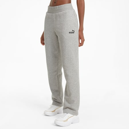 Pantalones deportivos Essentials para mujer, Light Gray Heather, small