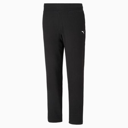 Pantalones deportivos Essentials para mujer, Puma Black-CAT, small