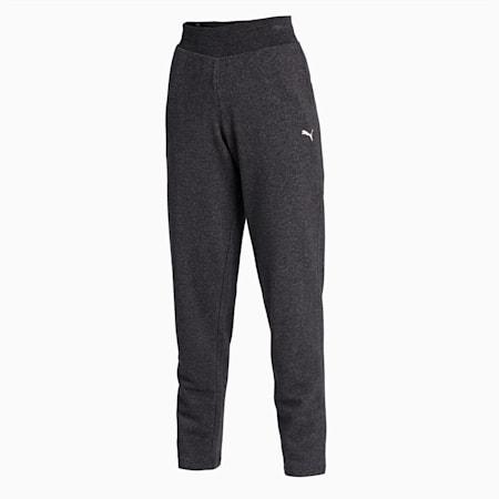 Essentials Women's Sweat Pants, Dark Gray Heather-CAT, small-IND
