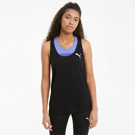 Active Women's Tank Top, Puma Black, small