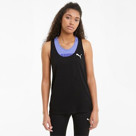 Camiseta de tirantes Active para mujer, Puma Black, small