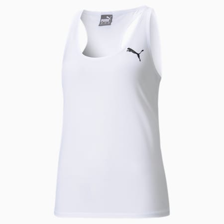Active Women's Tank Top, Puma White, small