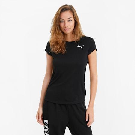 Active Damen T-Shirt, Puma Black, small
