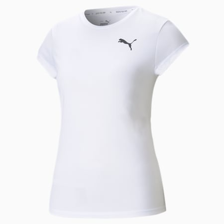 Active Women's T-Shirt, Puma White, small-IND