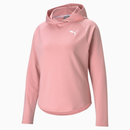 Active Women's Hoodie, Bridal Rose, small-GBR