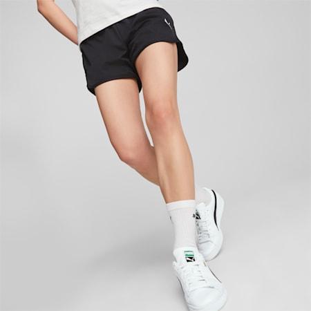 Active Woven Women's Shorts, Puma Black, small