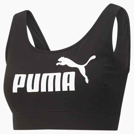 Top soutien-gorge Essentials femme, Puma Black, small