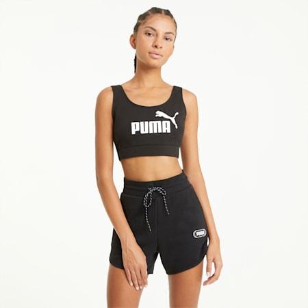 Essentials Women's Bra Top, Puma Black, small
