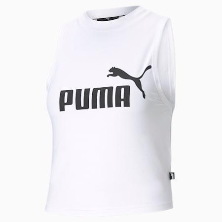 Essentials High Neck Women's Tank Top, Puma White, small-GBR