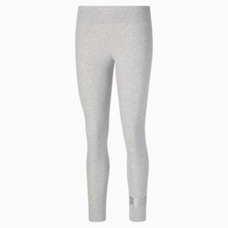 Leggings Essentials+ Metallic para mujer, Light Gray Heather, pequeño