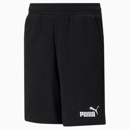Essentials Youth Sweat Shorts, Puma Black, small-GBR