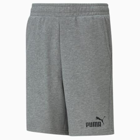 Essentials Youth Sweat Shorts, Medium Gray Heather, small-GBR