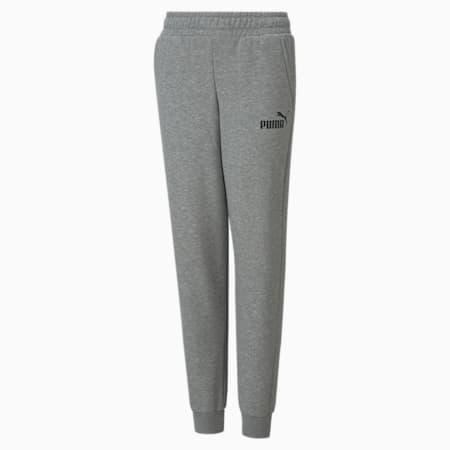 Essentials Logo Youth Pants, Medium Gray Heather, small-GBR