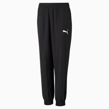 Active Gewebte Jugend Sweatpants, Puma Black, small
