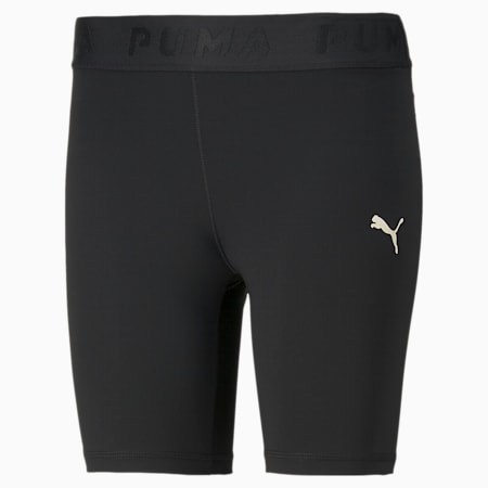 Modern Sports Women's Short Leggings, Puma Black, small