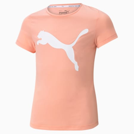 Active Youth Tee, Apricot Blush, small-SEA