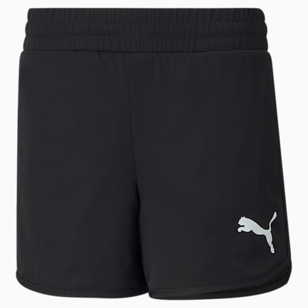 Active Youth Shorts, Puma Black, small-SEA