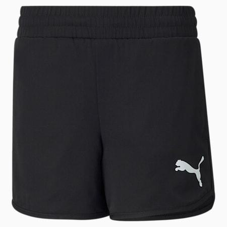 Active Youth Shorts, Puma Black, small-SEA