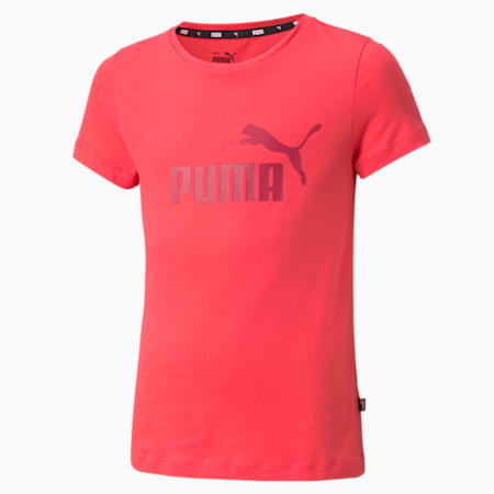 Essentials Logo Youth Tee, Paradise Pink, small-GBR