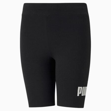 Essentials Short Youth Leggings, Puma Black, small-GBR
