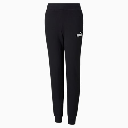 Essentials Youth Sweatpants, Puma Black, small-GBR