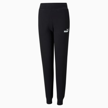 Essentials Youth Sweatpants, Puma Black, small